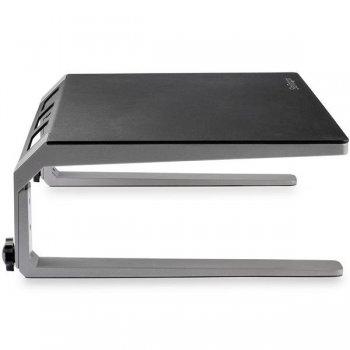 StarTech.com Base para Monitor - Riser de Acero y Aluminio - Soporte de Altura Ajustable