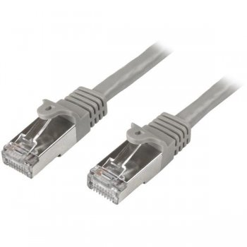 StarTech.com Cable de 3m de Red Cat6 Ethernet Gigabit Blindado SFTP - Gris