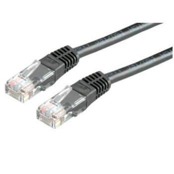 Nilox 5m Cat6 UTP cable de red U UTP (UTP) Negro