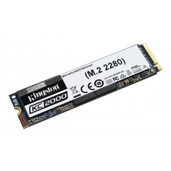 Kingston Technology KC2000 unidad de estado sólido M.2 250 GB PCI Express 3.0 3D TLC NVMe
