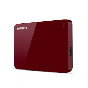Toshiba Canvio Advance disco duro externo 4000 GB Rojo