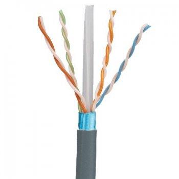 Panduit Cat 6A, 4-PR, 23 AWG, F UTP, LSZH cable de red Blanco