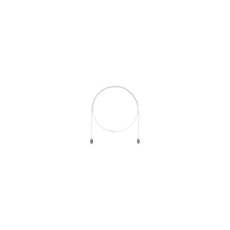 Panduit STP28X1MIG cable de red 1 m Cat6a F UTP (FTP) Gris