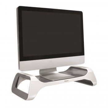 Fellowes 9311102 soporte de mesa para pantalla plana Gris, Blanco