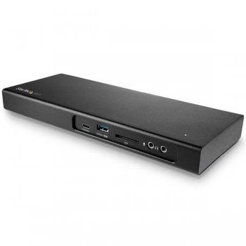 StarTech.com TB3DK2DPM2 base para portátil y replicador de puertos Alámbrico USB 3.0 (3.1 Gen 1) Type-C Negro