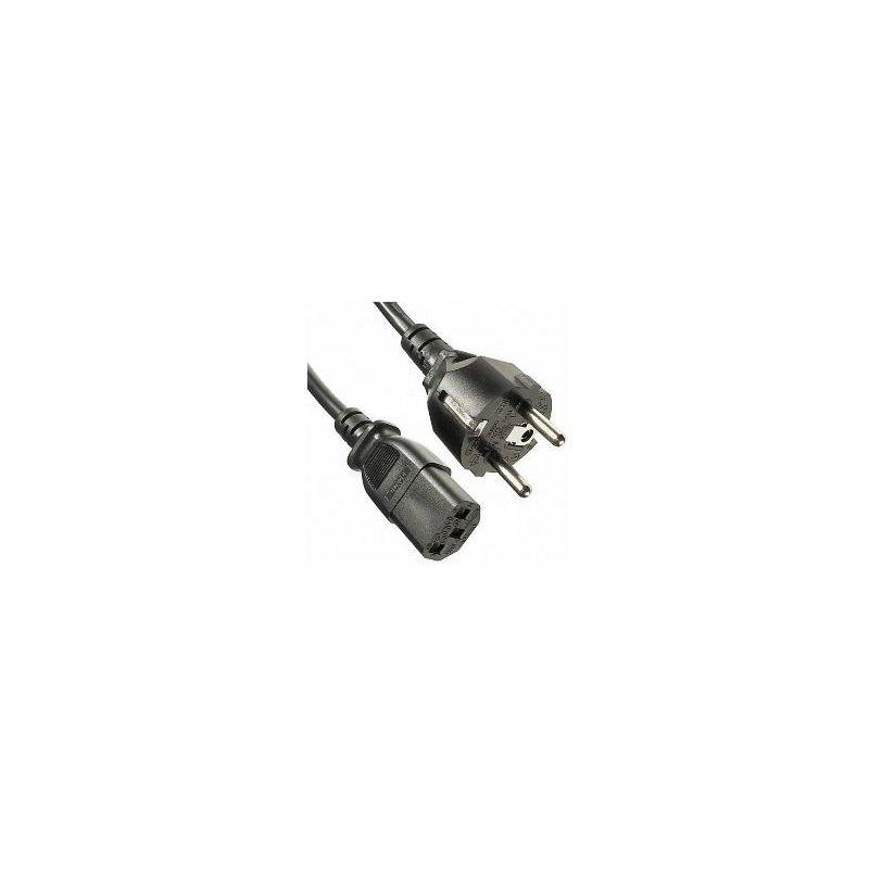 Nilox NX090402101 cable de transmisión Beige 1,8 m CEE7 14 C13 acoplador