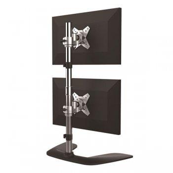 StarTech.com Soporte Vertical para Dos Monitores - de Aluminio