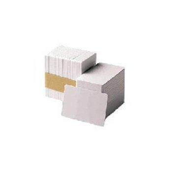 Zebra Premier PVC Card, 30 mil Low Coercivity Mag. Stripe (5 packs x 100) tarjeta de visita 500 pieza(s)