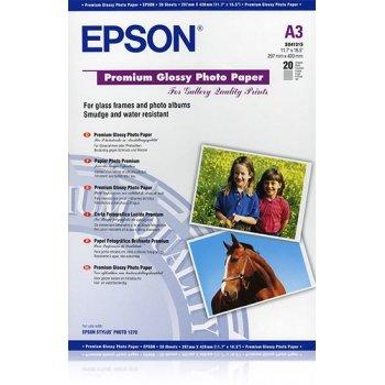 Epson Premium Glossy Photo Paper, DIN A3, 255 g m², 20 hojas