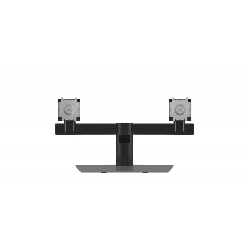 """DELL Dual Monitor Stand 68,6 cm (27"""") Aluminio, Negro"""