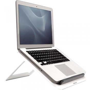 "Fellowes 8210101 soporte para ordenador portátil Gris, Blanco 43,2 cm (17"")"