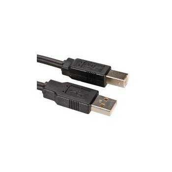 ITB 1.8m USB2.0 cable USB 1,8 m 2.0 USB A USB B Negro