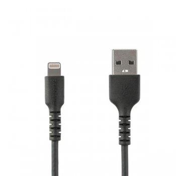 StarTech.com Cable de 2m USB a Lightning - Certificado MFi - Negro